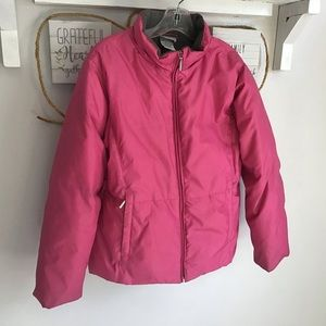 Pink Lady's winter coat